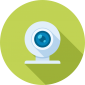 webcam video technology icon